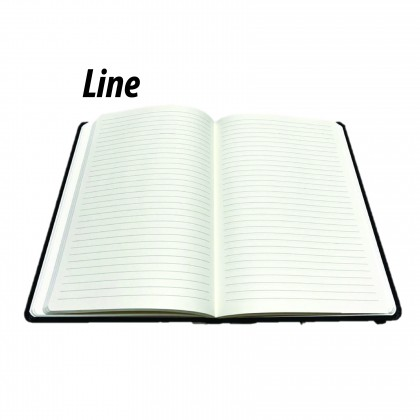 Personalized Name Notebook (Black Color)